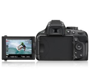 Das Display des D5200 ist benutzerfreundlicher.